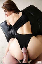 Hot Brunette Fucked From Behind 07