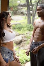 August Ames Interracial 01