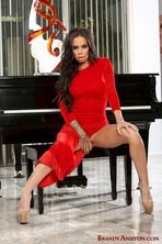 Hot Lady In Red 02