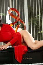 Hot Lady In Red 05
