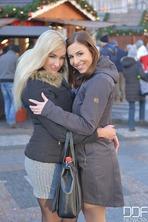 Daisy Lee And Antonia Sainz Sharing Cock For Xmas 00