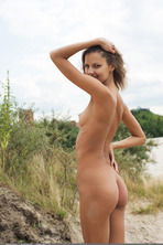 Sandra Lauver Natural Beauty Teen Strips Outdoors 14