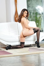 Vanessa Veracruz In Sexy Black Lingerie 11