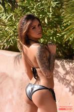 Gemma Is Stunning In A Silver Bikini 00