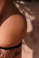 Gemma Is Stunning In A Silver Bikini 03