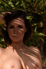 Gemma Is Stunning In A Silver Bikini 15
