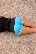 Katie Banks Naked On Floor 01