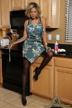 Kristi Curiali Creams Her Juicy Boobies 00