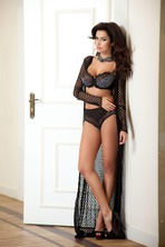 Busty Natalia Siwiec In Alles Lingerie Collection 08