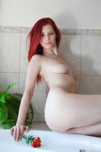 Sexy Red Flower Ariel 11