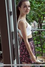 Cute Brunette Girl Iva 10