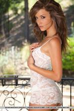 Malena White Lingerie 04