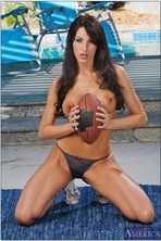 Kortney Kane Taking Off Her Sport Outfit Outdoor 08