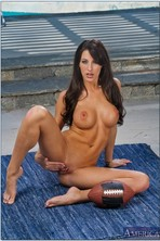 Kortney Kane Taking Off Her Sport Outfit Outdoor 12