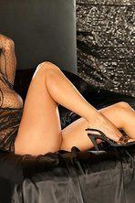 Lauren Elise Slips Off Her Black Lingerie 09