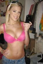 Britney Beth Stripping To Show Her Hooters And Pussy 08