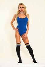 Alix Lynx Looking Hot In Blue 00