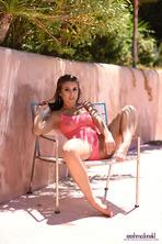 Sarah In Pink See Through Bodysuit 12