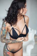 Nika A Inked Babe Posing 14