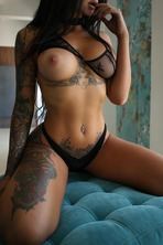 Gorgeous Tattooed Babe Lee 14