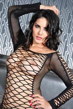 Sunny Leone Wearing See Through Lingerie 11