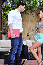 Busty August Ames Gets Fucked 00
