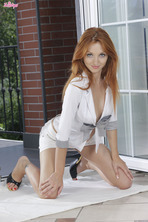 Horny Redhead Michelle 00