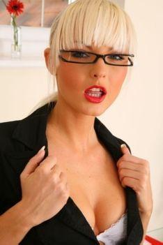 Blonde Secretary Pics