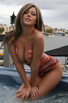 Brooke Lima Hot Tub