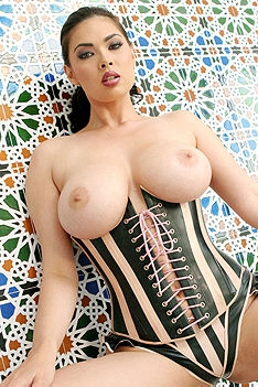 Tera Patrick Wet Corset Fetish