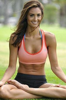 Sporty Celeb Katie Cleary
