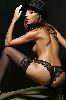 Jenna Haze In Black Stockings