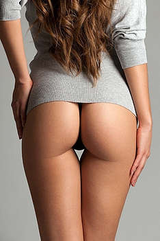 Nice Shaped And Round Asses