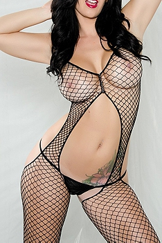 Jayden Black Fishnet