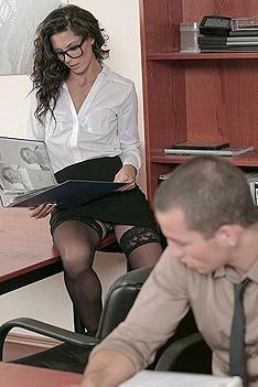 Alexa Tomas Office Sex