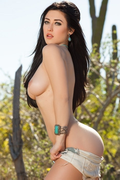 Sexy Playmate Stefanie Knight