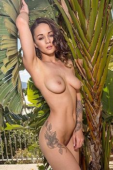 Mica Martinez In Sexy Colorful Bikini