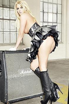 Sexy Blonde Playmate Jennifer Pershing
