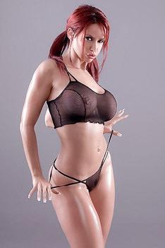Busty Redhead Bianca Beauchamp