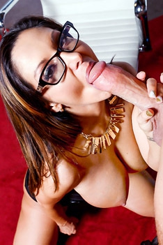 Ava Addams Hopes He Has A Big Enough Dick To Satisfy Her Sexual Needs