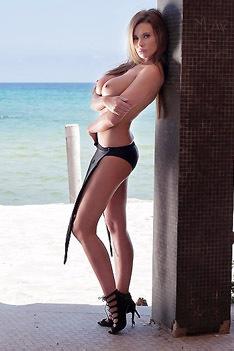 Kirstin At The Beach
