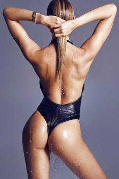 Candice Swanepoel Poses Naked