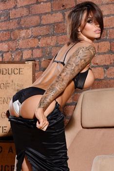 Busty UK Glamour Model Gemma Massey