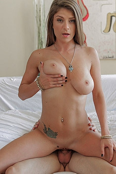 Big Titted Slut Dillion Carter Riding On A Hard Dick