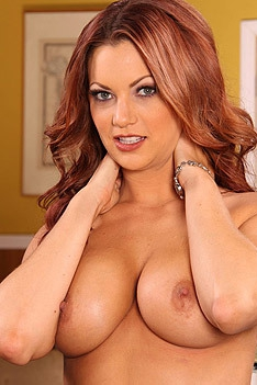 Hot Redhead Secretary Jayden Cole