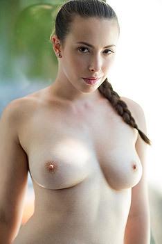 Casey Calvert Shows Her Perky Tits