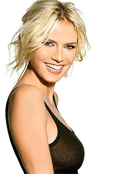 Gorgeous Blonde Supermodel Heidi Klum