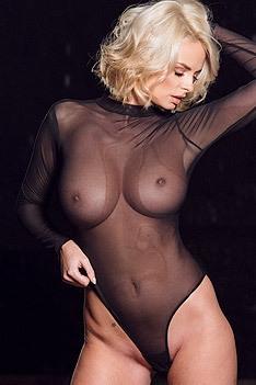 Busty Blonde Rhian Sugden