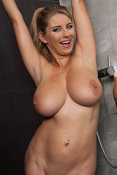 Busty Blonde Katy Kozy