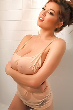 Tessa Fowler In The Bathroom